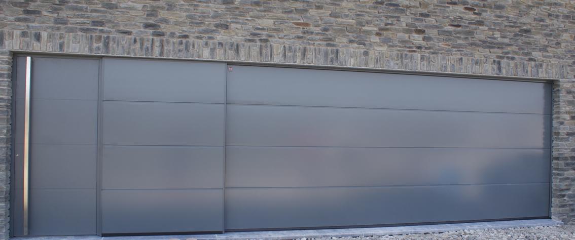 porte de garage sectionnelles h rmann porte d entr e profil s sch co deville sa. Black Bedroom Furniture Sets. Home Design Ideas