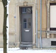 Porte d'entrée Deville  avec profilés Schüco